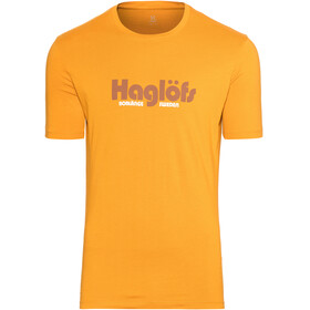 Haglöfs Camp Tee Men Desert Yellow
